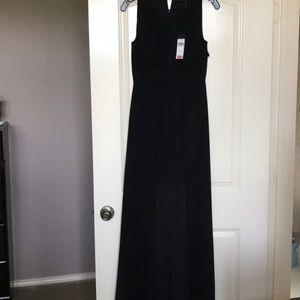 Bcbg black maxi formal dress with tags